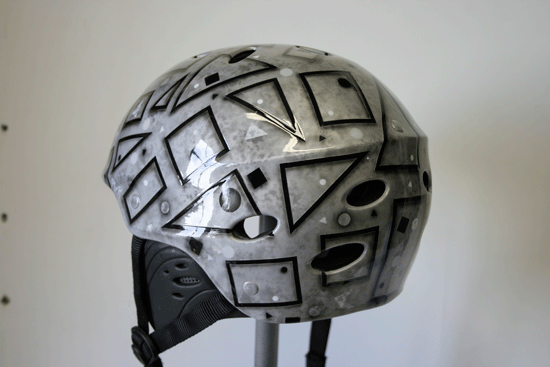 Airbrush Basic shapes Helmet