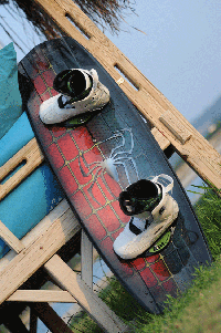 Airbrush Wakeboard Jeff